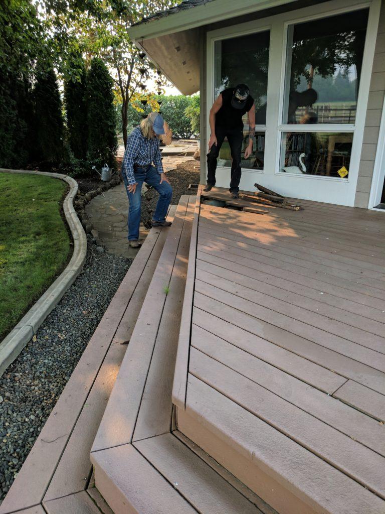 Deck Renovation Talent Oregon
