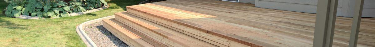 Cedar Deck Rebuild Medford Oregon