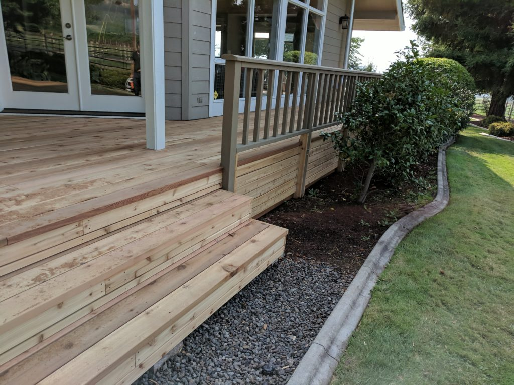 Deck Rebuild Phoenix Oregon