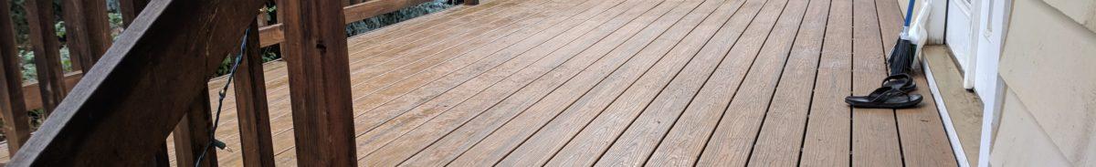 Composite Deck Jacksonville Oregon