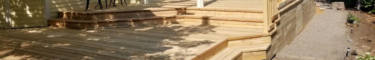 deck build medford oregon