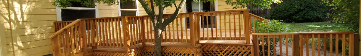 Deck Installation Contractor Ashland Oregon