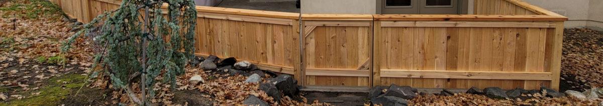 Fence Installation Contractor Ashland Oregon